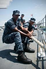160419-N-EH218-089 (U.S. Pacific Fleet) Tags: ocean usa pacific mob pacificocean cruiser underway deployment 2016 ussmobilebay cg53 7thfleet