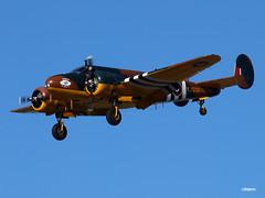 160330_11_C45 (AgentADQ) Tags: plane airplane airport florida aviation international leesburg beechcraft c45 bucketofbolts expeditor