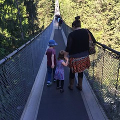 Quick stop at the @capilanosuspensionbridge. #whistler was awesome. Next stop... #Seattle!! (Yosef Silver - This American Bite) Tags: food cooking recipes foodie instagram thisamericanbite