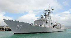 100803-N-3666S-049 (Nelson Dillehunt) Tags: hawaii unitedstates ships navy pearlharbor usnavy underway guidedmissilefrigate westernpacificocean usscrommelinffg37 scheduleddeployment