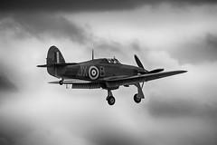 Returning Home (Lee532) Tags: bird plane nikon memorial war fighter force britain aircraft aviation air hurricane flight royal battle aeroplane historic tamron warbird raf hawker d610 bbmf 150600mm