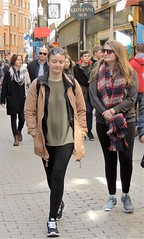 Old Town girls (bokage) Tags: street girl sweden stockholm pedestrian gamlastan oldtown bokage
