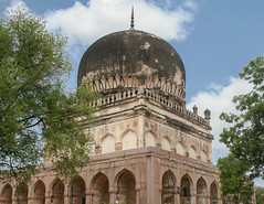 Qutub Shahi Tombs (Uday Pratti) Tags: architecture historical hyderabad golconda moghularchitecture qutubshahitombs persianarchitecture telangana hyderabadattractions sahitijune2011 pathaniarchitecture