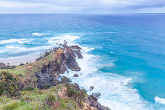Cape Byron (russellstreet) Tags: cloud water horizon australia newsouthwales byronbay capebyron