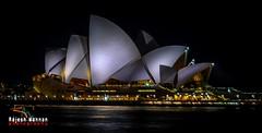 Sydney Opera House (RajeshMannanPhotography) Tags: light sea night harbor harbour sydney australia nightlight