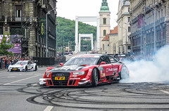 DTM Audi - The Great Race IV Budapest (iphoto.geri) Tags: street city bridge red race racecar town cloudy wheels budapest racing ring bmw dtm tuning centrum m4 racer drift spoiler erzsbethd greatrace msport bmwm nagyfutam