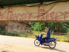 Strong sunlight (kawabek) Tags: thailand motorcycle chiangmai タイ バイク เชียงใหม่ ประเทศไทย チェンマイ รถจักรยานยนต์