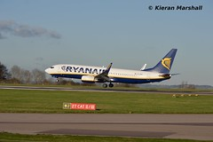 EI-EKS, East Midlands Airport, 15/1/16 (hurricanemk2c) Tags: plane flying aviation planes boeing ryanair ema 737 737800 2016 eastmidlandsairport 738 3203 38504 egnx 7378as 737800w 737800wl 7378asw eieks fr1743 ryr4sd