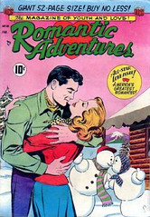 Romantic Adventures 18 (Michael Vance1) Tags: winter woman man art love comics artist marriage romance lovers dating comicbooks relationships cartoonist anthology silverage