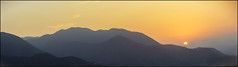 Anamorphic Sunset 2016 (MikeJoints) Tags: sunset summer mountains art peru photography golden flickr photographer lima anamorphic flickraward cinematiclook flickraward5 flickrawardgallery sankor16f
