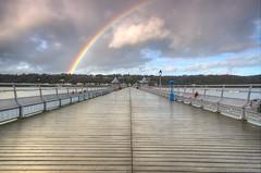 Rainbow over Garth Pier, Bangor, North Wales (Jeffpmcdonald) Tags: rainbow nikond7000 jeffpmcdonald dec2015