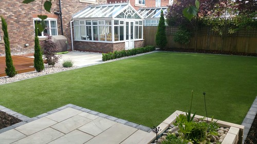 Landscape Gardening Wilmslow -  Decking Paving and Artificial Lawn Image 27