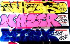 nazer26 stickers (Wizards_Stickers) Tags: graffiti stickers can spray crew labels usps slaps collabs mtsk cholowiz nazer26