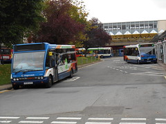 Stagecoach in South Wales 47628 and 47345 (welsh bus 16) Tags: southwales solo stagecoach cwmbran optare 47345 47628 cn06lef ye08ezg