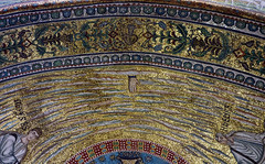 Hand of God, apse mosaic, Sant'Apollinare in Classe