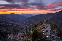 """""""Chimney Tops"""" Sunset (K. Stewart) Tags: sunset mountains nature canon outdoors hiking tennessee smokies chimneys smokymountains easttennessee greatsmokymountains gsmnp chimneytops greatsmokymountainnationalpark canon1635 canon6d thechimneytops"""