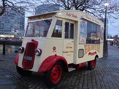 Anyone For Ice Cream? - Liverpool (Ermintrude73) Tags: urban liverpool transport icecream vehicle albertdock icecreamtruck icecreamvan dwm698 therealdiaryicecreamcompany