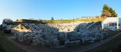 Ancient Theatre (PhotoXen) Tags: trees ancient theatre culture greece