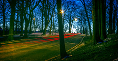 Lightspeed (shanky_v2) Tags: longexposure newjersey bluehour taillight