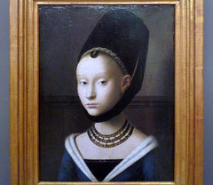 Petrus Christus, Portrait of a Young Woman, c. 1470