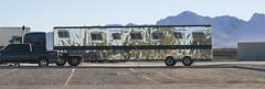 Truck Pano (cobalt123) Tags: arizona canon tucson firstphotos age11 2016 anavey tucsonrockandgemshow xti canonrebelxti anaveybolender