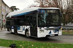 Iveco Bus Urbanway Hybride Montelibus (Autocars Rhne-Alpes) Tags: bus k bruno drome stam iveco atelier reunir hybride urbanway 6 keolis euro6