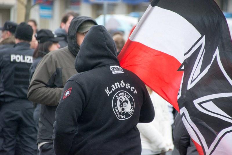 Rassistische Demo Sonneberg 10