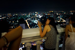 Portrait shooter (diggertomsen) Tags: leica travel tower thailand hotel bangkok statetower travelphotography lebua leicaq typ116