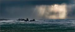 Tempête sur la Bretagne (jyleroy) Tags: ocean sea mer storm france lumix brittany europe ngc wave bretagne atlantic panasonic tempest vague tempête finistère atlantique océan porspoder frenchbrittany nationalgeographicgroup fz200