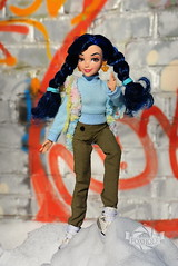 Ivy (marina.lissitza) Tags: blue snow girl doll ivy graffity descendants