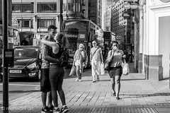 Passion on the road 0216033 (meriwaniart) Tags: street london art photography kiss couple young an embrace passionately meriwani