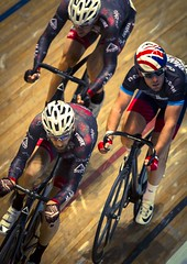 Manchester Velodrome - Jan '16 (Rob Clowes) Tags: motion blur bike race speed canon manchester prime cycling cyclists movement track wheels bikes racing 300mm cycle revolution rotation fixie 300 cavendish f28 velodrome uci lightroom maloja llens canonlseries manchestervelodrome britishcycling markcavendish canon7d revolutionseries manxmissile pushbikers