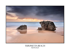 Turimetta (sugarbellaleah) Tags: seascape storm beach rain weather dark sand rocks cloudy stormy weathered turimetta