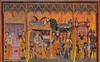 Detail of a medieval altarpiece (frankmh) Tags: church skåne sweden indoor medieval altar helsingborg churchofstmary altarpiece