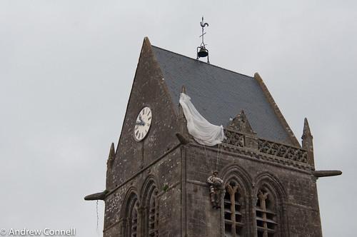 Notre Dame at Sainte Mere Eglise