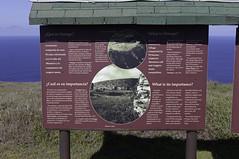 Orongo Sign (blueheronco) Tags: sign volcano pacificocean easterisland rapanui ranokau isladepascua orongo orongovillage