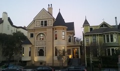 (sftrajan) Tags: sanfrancisco california chimney architecture arquitectura decoration victorian plaster mansion lafayettepark gable victorianarchitecture pacificheights goughstreet 2016 nationalregisterofhistoricplaces victoriansanfrancisco 2000goughstreet 2004goughstreet