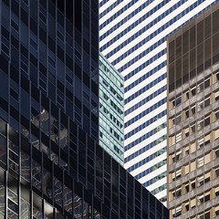 3rd & 52nd (josullivan.59) Tags: nyc shadow wallpaper urban panorama orange usa white newyork abstract black detail green geometric architecture day skyscrapers unitedstates graphic manhattan january angles clear midtown minimalism lightanddark artisitic 2016 3exp canon6d tamron150600