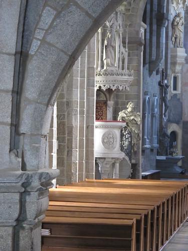 2012 08 09 Repubblica Ceca - Jihlavsko - Trebic - Basilica di San Procopio - Pulpito_0242