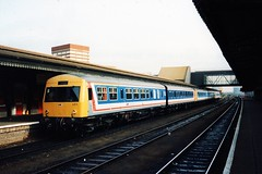 53155 + 54287 (Sparegang) Tags: reading britishrail dmu networksoutheast metrocammell class101 53155 54287 class121 pressedsteelsuburban
