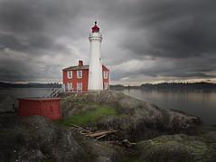 Fisgard Lighthouse (eugeny_p) Tags: ocean sea lighthouse storm gimp vancouverisland victoriabc colwood explorebc