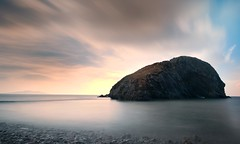 IMG_4988 (dansijones) Tags: longexposure seascape nature photoshop island pebbles lightroom anglesey northwales sigma1020mm canon70d leebigstopper ynysyfydlyn