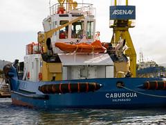 Remolcador Caburgua (Calvipitecus) Tags: chile barco valdivia remolcador ríocallecalle canonpowershotg15 calvipitecus remolcadorcaburgua