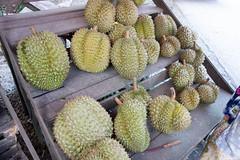 Durian (Kent Wang) Tags: thailand durian fruitstand