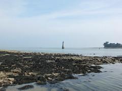 Mare basse Ile-Tudy (Chti-breton) Tags: balise estuaire tourelle