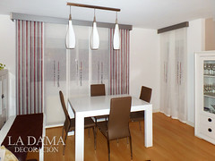 "Cortinas para salón moderno • <a style=""font-size:0.8em;"" href=""http://www.flickr.com/photos/67662386@N08/25261752492/"" target=""_blank"">View on Flickr</a>"