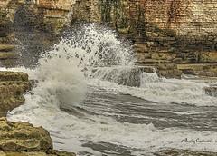 448_tonemapped-Editrz (Bev Cappleman) Tags: waves wave splash breakingwave thornwickbay