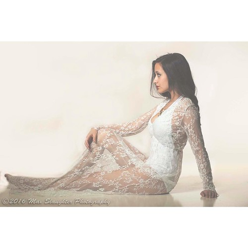 Pretty Diamond sitting on the studio floor in an awesome lace dress. #brunette #beauty #stunning #lacedress #gorgeous #studio #nikon #d800