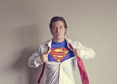 Superman (Rob Wink) Tags: lighting selfportrait 50mm superman superhero movies shield 365 dccomics reds odc nikond7000