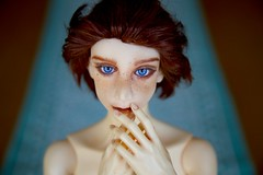 My Own Sculpt!  Trafalgar (zoziebrown) Tags: boy doll artist body trafalgar redhead bjd freckles artdoll abjd popo balljointeddoll handmadedoll resincast normalskin ipopo artistmade resincasting bjdresindoll popodoll artistcast handmadeballjointeddoll supportbjdartists